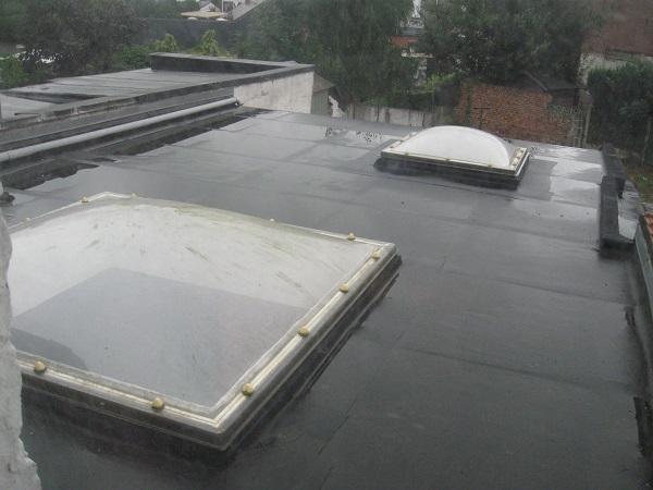 nouvelle toiture plate